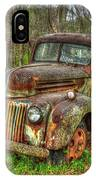 Caught Behind 1947 Ford Stakebed Pickup Truck Art IPhone Case