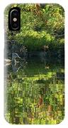 Caught In The Reflection IPhone Case