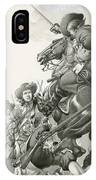 Cavalry Charge IPhone Case