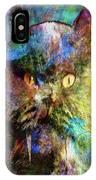 Cave Cat IPhone Case