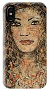 Cave Woman IPhone Case