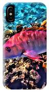 Cayman Snapper IPhone Case