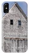 Cedar Shake Barn IPhone Case