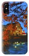 Cedarburg Mill At Night IPhone Case