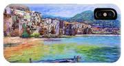 Cefalu Sicily Italy IPhone X Case