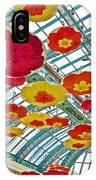 Ceiling Of Bellagio Conservatory In Las Vegas-nevada IPhone Case