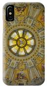 Ceiling Of The Berlin Cathedral IPhone Case