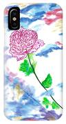 Celestial Rose IPhone Case