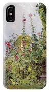 Celia Thaxters Garden IPhone Case