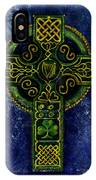 Celtic Cross - Harp IPhone Case