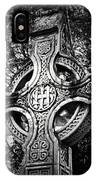 Celtic Cross Detail Killarney Ireland IPhone Case
