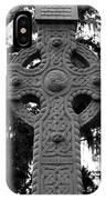Celtic Cross In Emmet Park IPhone Case