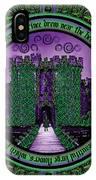 Celtic Sleeping Beauty Part IIi The Journey IPhone X Case