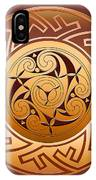 Celtic Spiral And Key Pattern IPhone Case