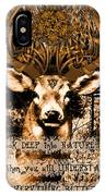 Celtic Stag IPhone X Case