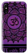 Celtic Tribal Crown Chakra IPhone X Case