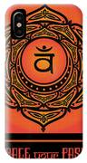 Celtic Tribal Sacral Chakra IPhone X Case