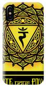 Celtic Tribal Solar Plexus Chakra IPhone X Case