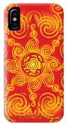 Celtic Tribal Sun IPhone X / XS Case