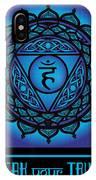 Celtic Tribal Throat Chakra IPhone X Case
