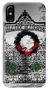 Celtic Yuletide Blessings IPhone X Case