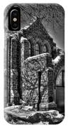 Cemetary Chaple IPhone Case