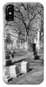 Cemetery 3 IPhone Case