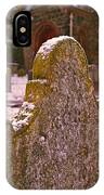 Cemetery Headstone  IPhone Case