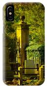 Cemetery In Charleston IPhone Case