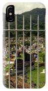 Cemetery In Seychelles Islands IPhone Case