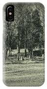 Cemetery In The Woods IPhone Case