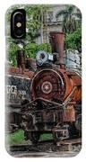 Cemetery Of Railway IPhone Case