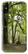 Cemetery  Trees 1 IPhone Case