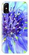 Centaurea Cyanus 1 IPhone Case