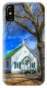 Centennial Christian Church Rural Greene County Georgia IPhone Case
