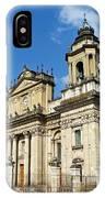 Central Church Guatemala City 1 IPhone Case