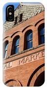 Central Market Lancaster Pennsylvania IPhone Case