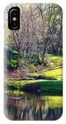 Central Park Colors IPhone Case