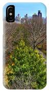 Central Park East Skyline IPhone Case