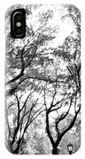 Central Park Nyc In Black And White IPhone Case