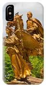 Central Park Sculpture-general Sherman IPhone Case