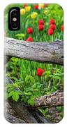 Central Park Shakespeare Garden New York City Ny Wooden Fence IPhone Case