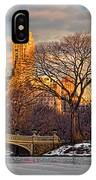 Central Parks Famous Bow Bridge IPhone Case