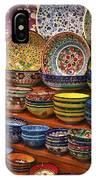 Ceramic Dishes IPhone Case