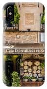 Ceramic Shop - Toledo Spain IPhone Case