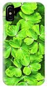 Certain Green IPhone Case