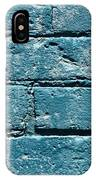 cerulean wall II IPhone Case
