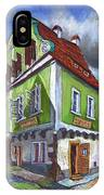 Cesky Krumlov Old Street 3 IPhone Case