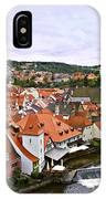 Cesky Krumlov Overview 2 IPhone Case