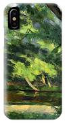Cezanne: Etang, 1877 IPhone Case